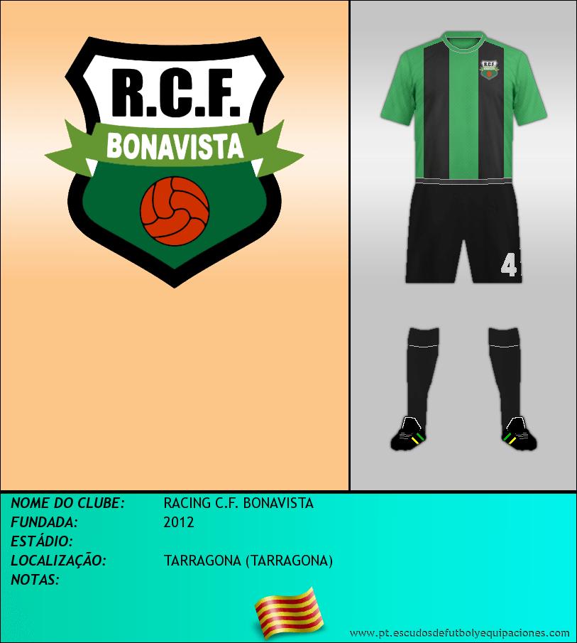 Escudo de RACING C.F. BONAVISTA
