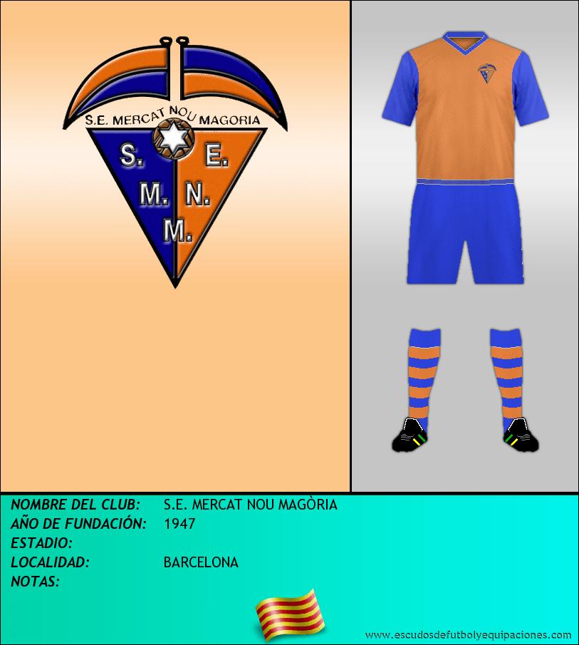 Escudo de S.E. MERCAT NOU MAGÒRIA