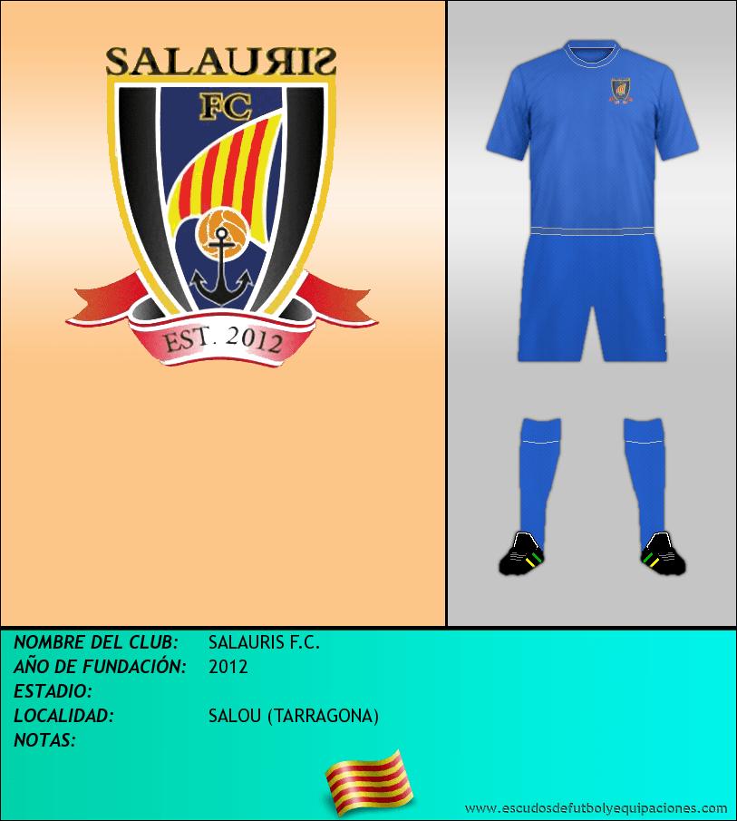 Escudo de SALAURIS F.C.