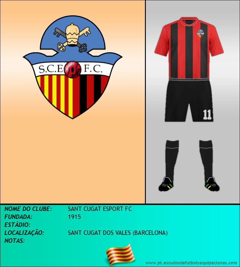 Escudo de SANT CUGAT ESPORT FC