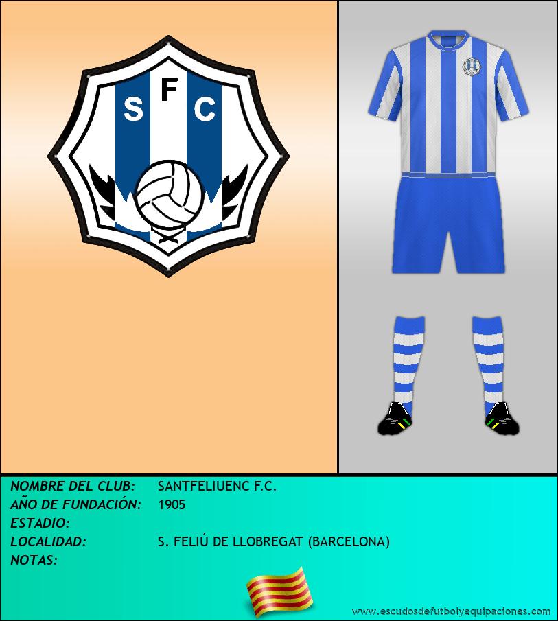 Escudo de SANTFELIUENC F.C.