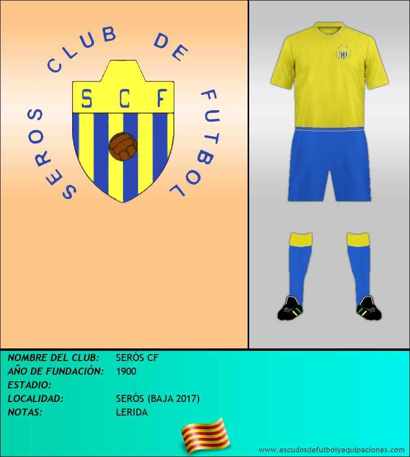 Escudo de SERÓS CF
