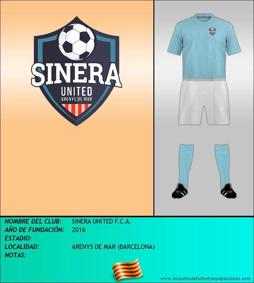 Escudo de SINERA UNITED F.C.A.