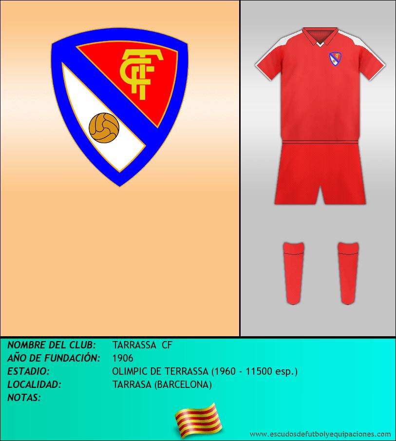 Escudo de TARRASSA  CF
