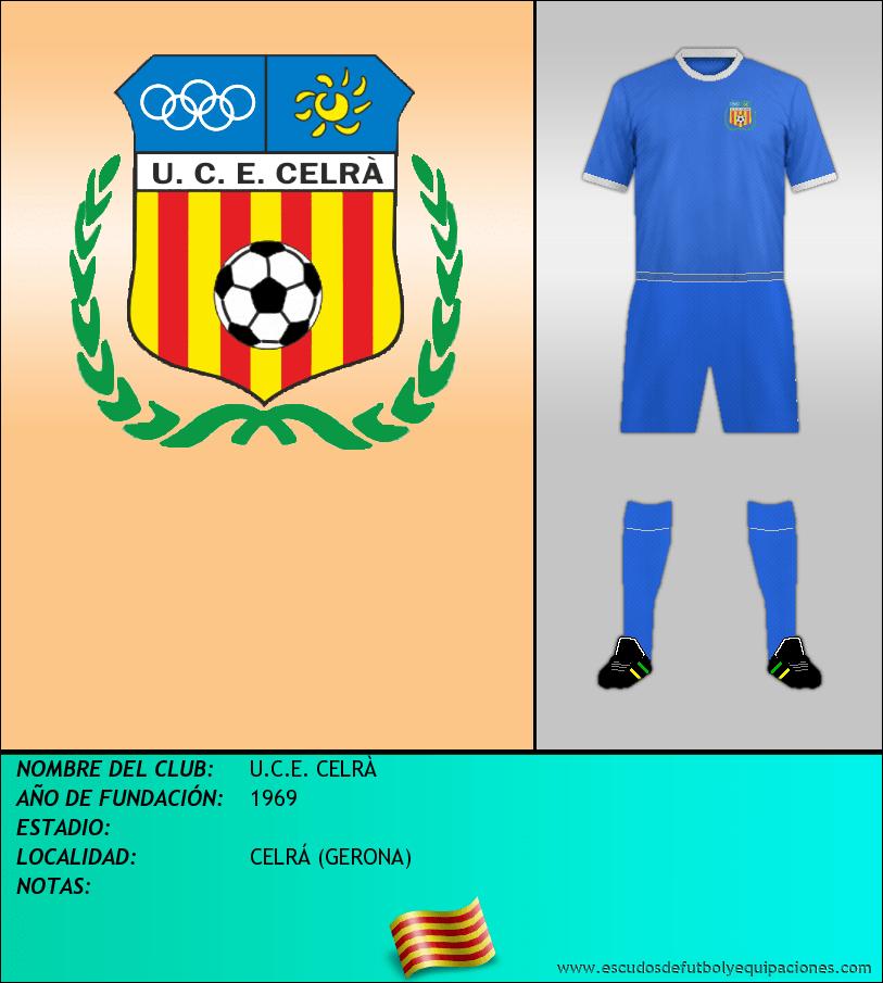 Escudo de U.C.E. CELRÀ