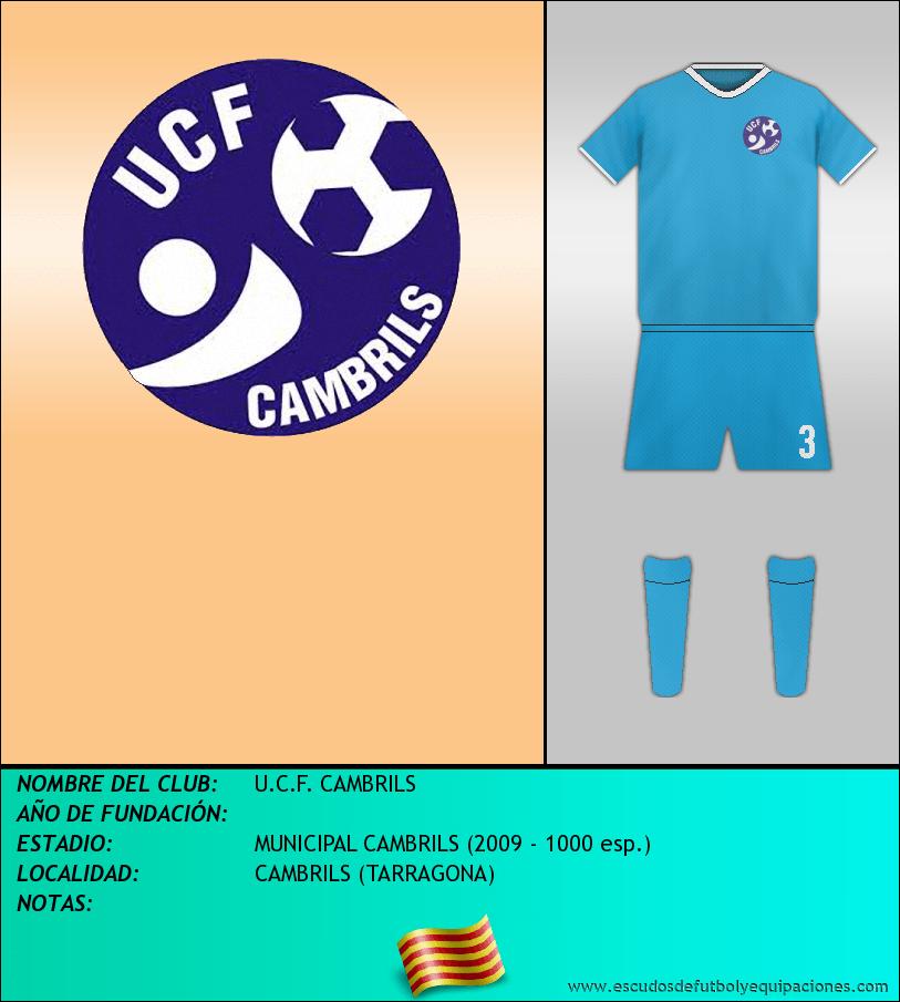 Escudo de U.C.F. CAMBRILS