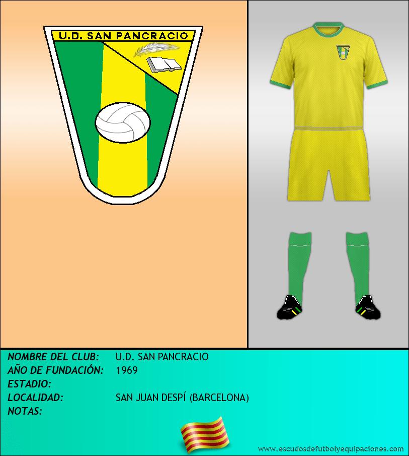 Escudo de U.D. SAN PANCRACIO