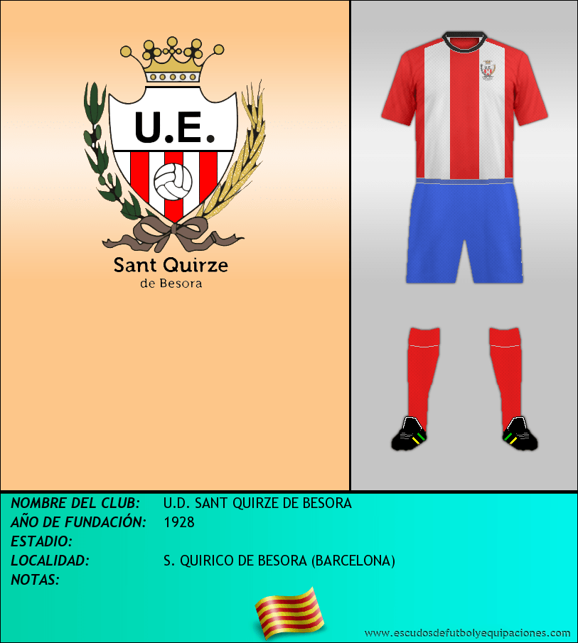 Escudo de U.D. SANT QUIRZE DE BESORA