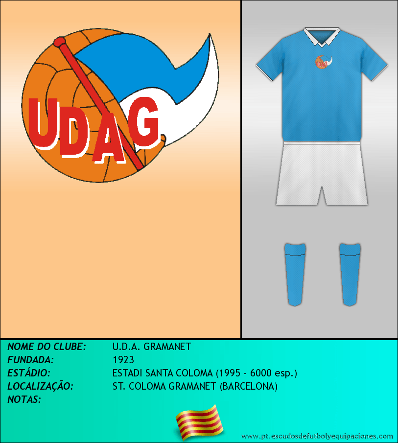 Escudo de U.D.A. GRAMANET