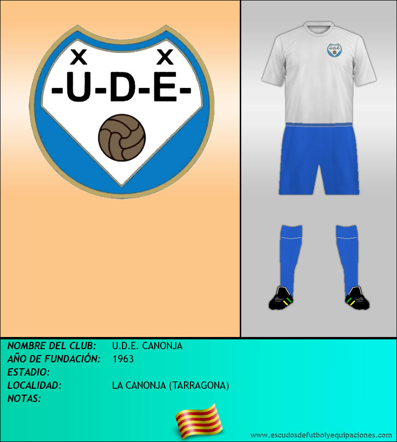 Escudo de U.D.E. CANONJA
