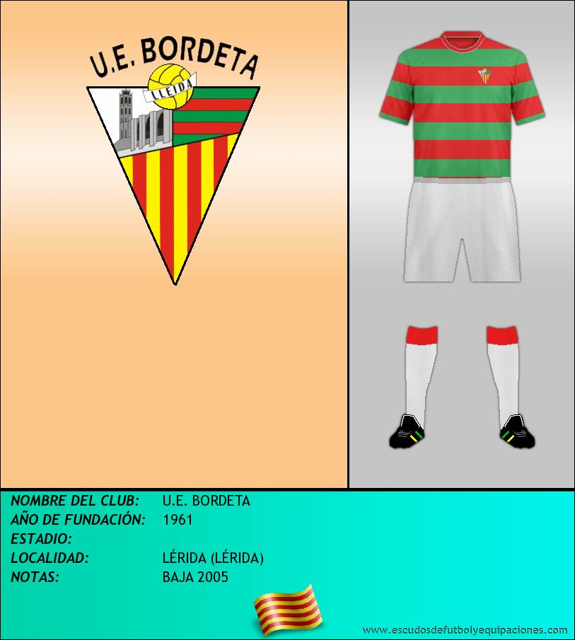 Escudo de U.E. BORDETA