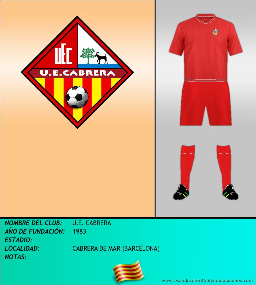 Escudo de U.E. CABRERA