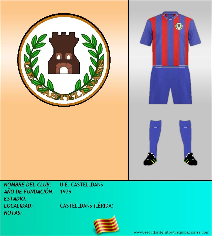 Escudo de U.E. CASTELLDANS
