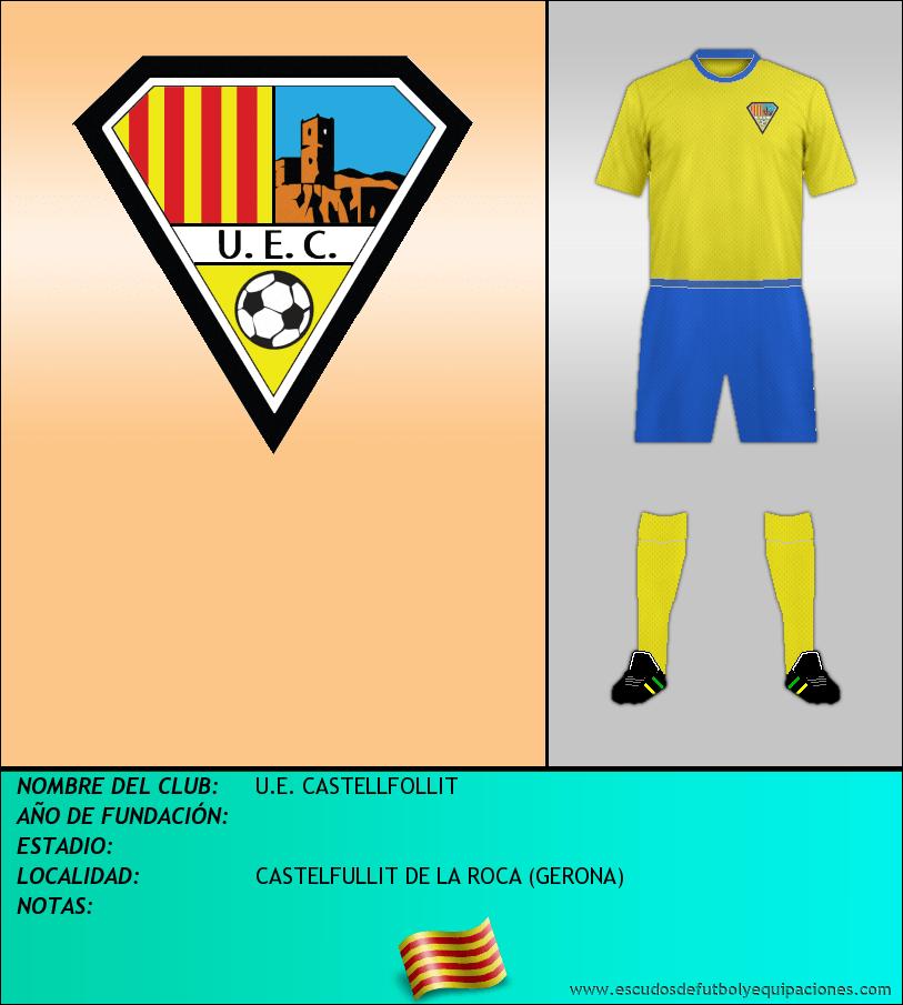 Escudo de U.E. CASTELLFOLLIT