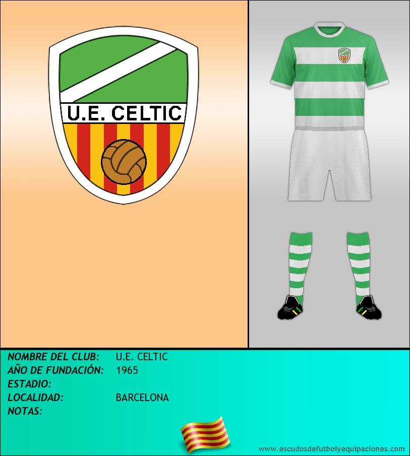 Escudo de U.E. CELTIC