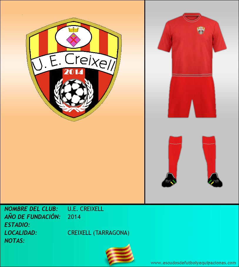 Escudo de U.E. CREIXELL