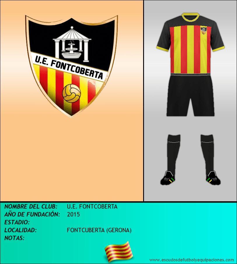Escudo de U.E. FONTCOBERTA