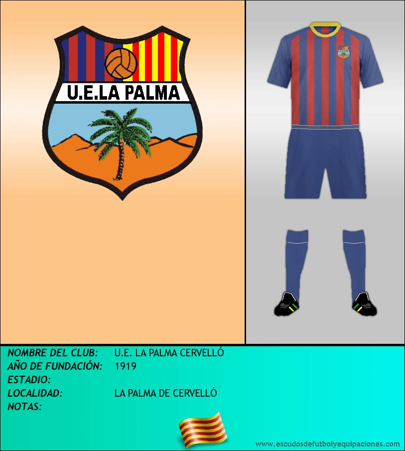 Escudo de U.E. LA PALMA CERVELLÓ