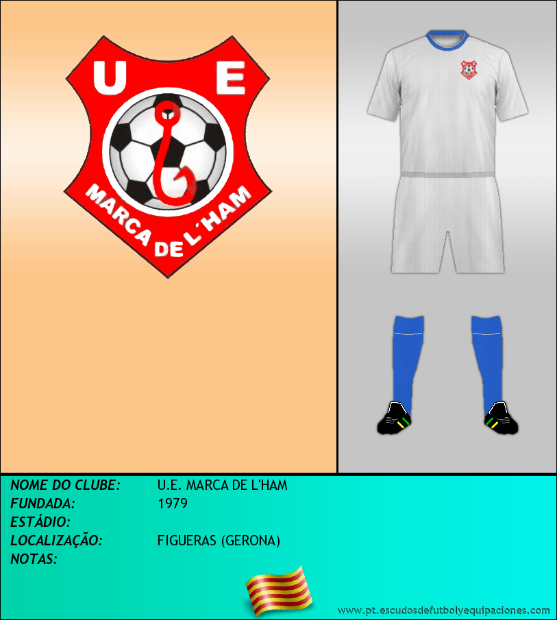 Escudo de U.E. MARCA DE L'HAM
