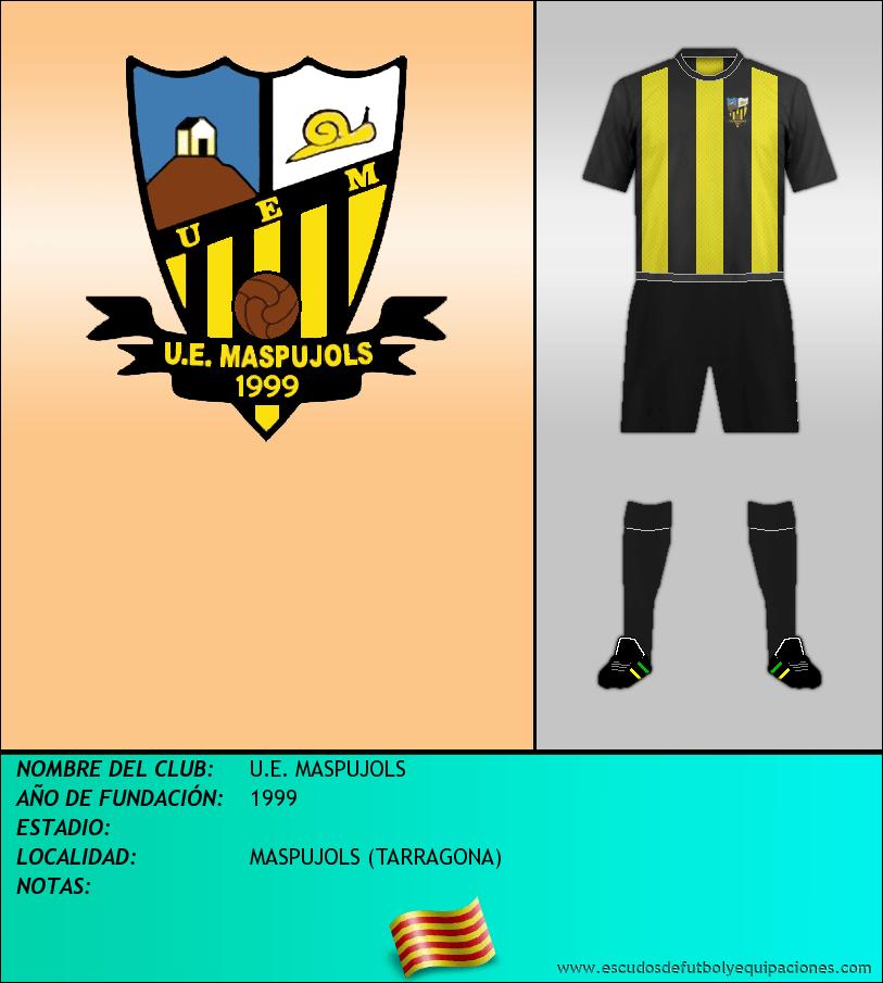 Escudo de U.E. MASPUJOLS