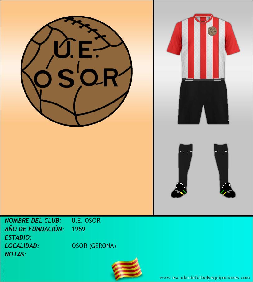 Escudo de U.E. OSOR