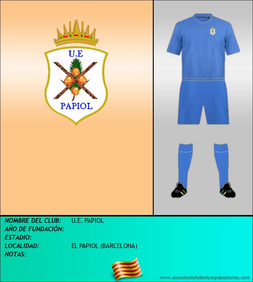 Escudo de U.E. PAPIOL