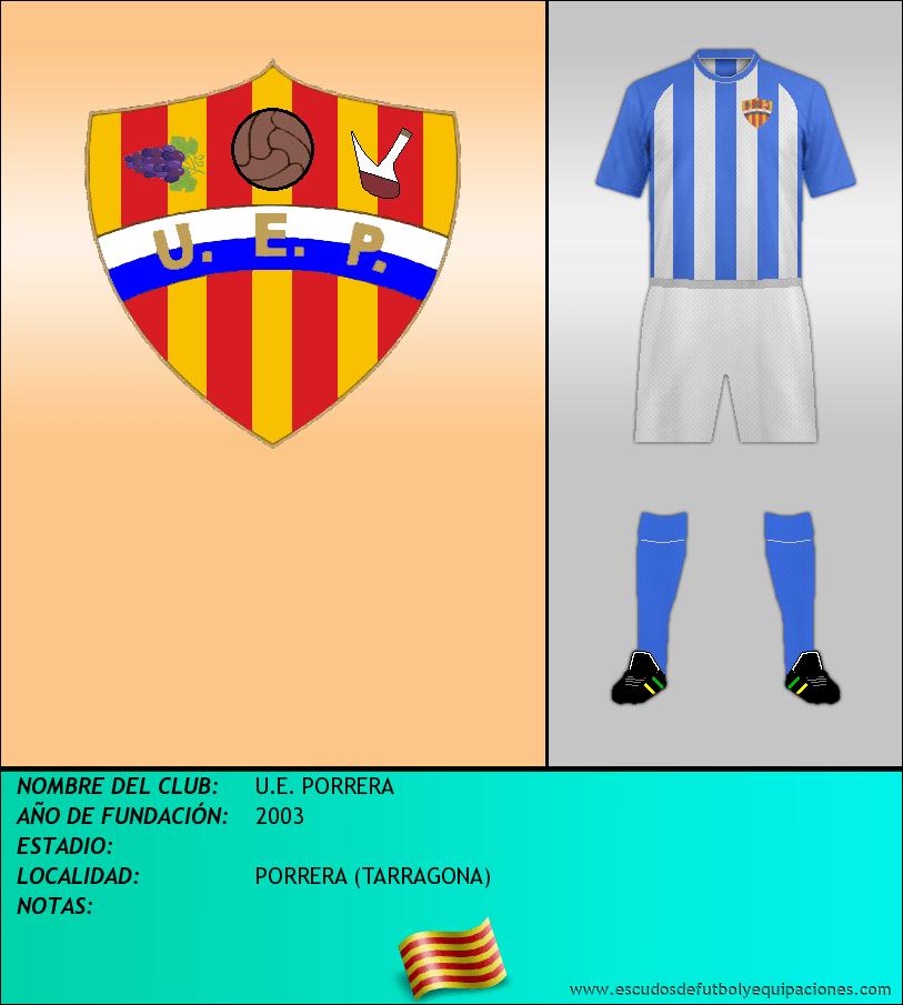 Escudo de U.E. PORRERA