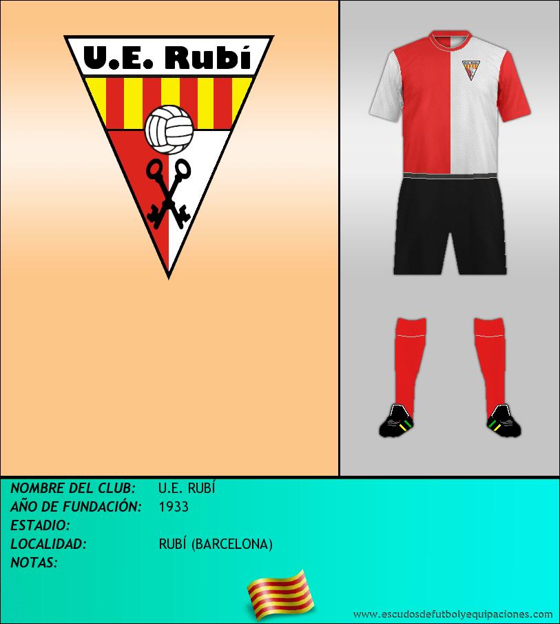 Escudo de U.E. RUBÍ