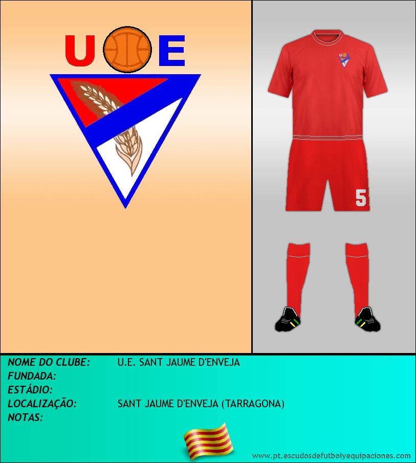 Escudo de U.E. SANT JAUME D'ENVEJA