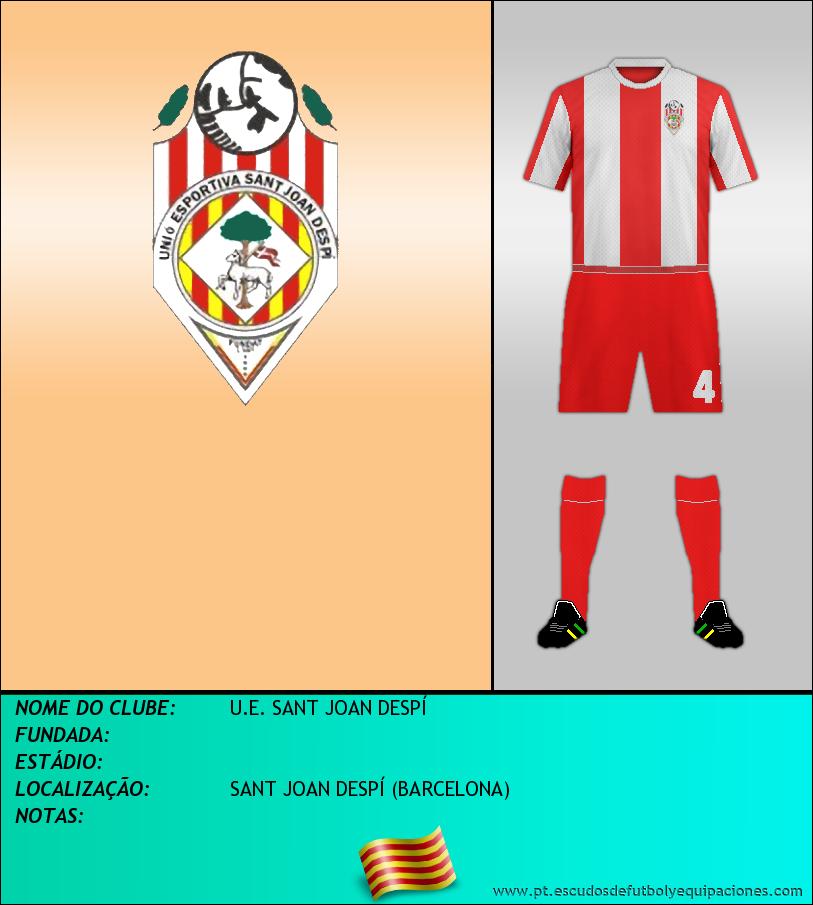 Escudo de U.E. SANT JOAN DESPÍ