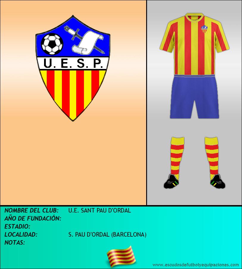 Escudo de U.E. SANT PAU D'ORDAL