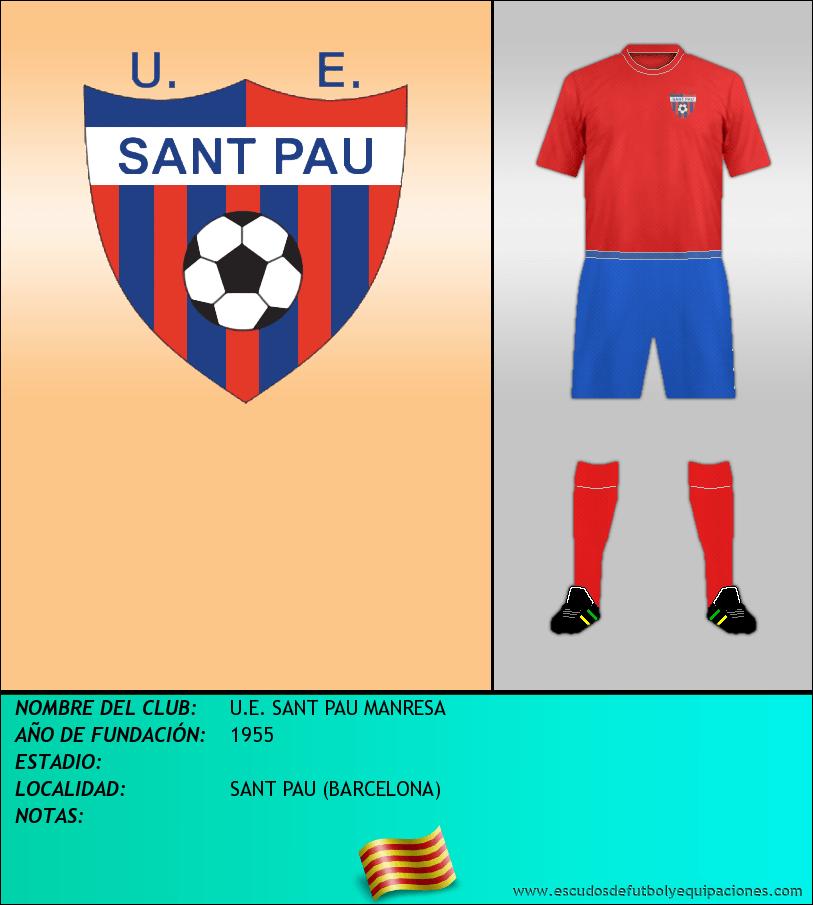 Escudo de U.E. SANT PAU MANRESA