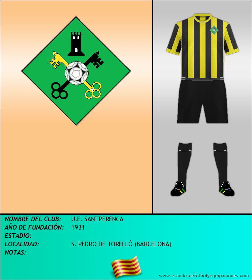 Escudo de U.E. SANTPERENCA
