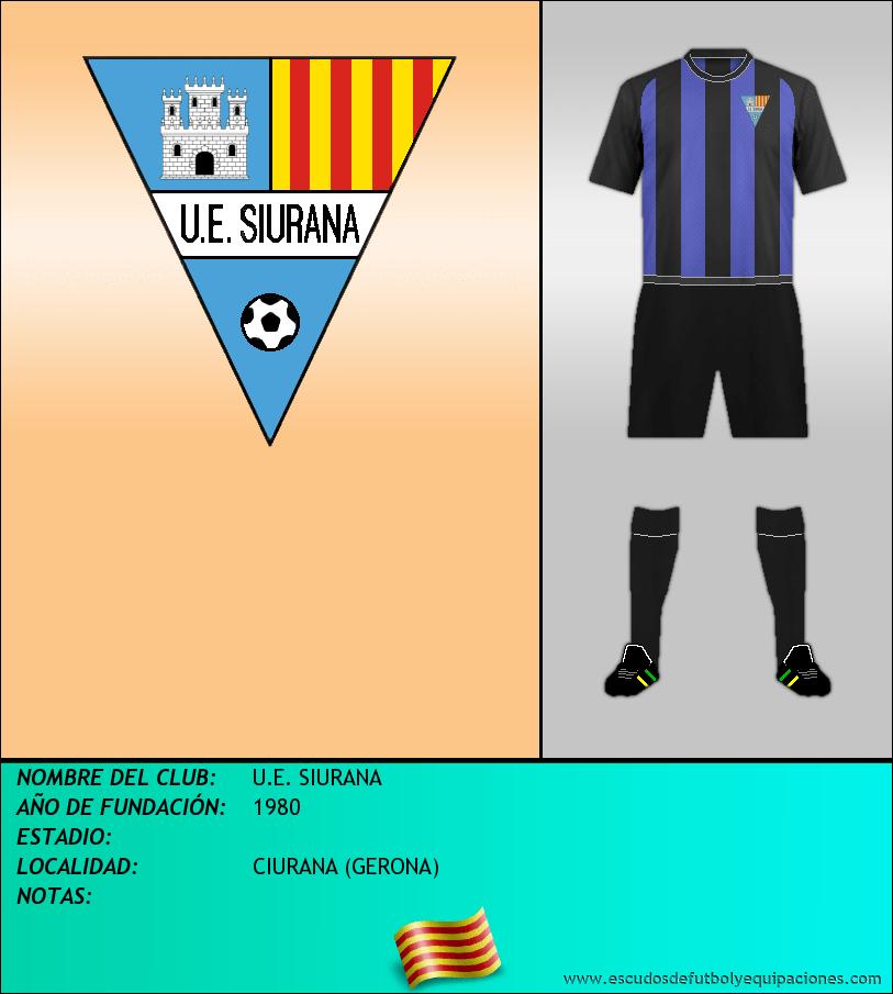 Escudo de U.E. SIURANA