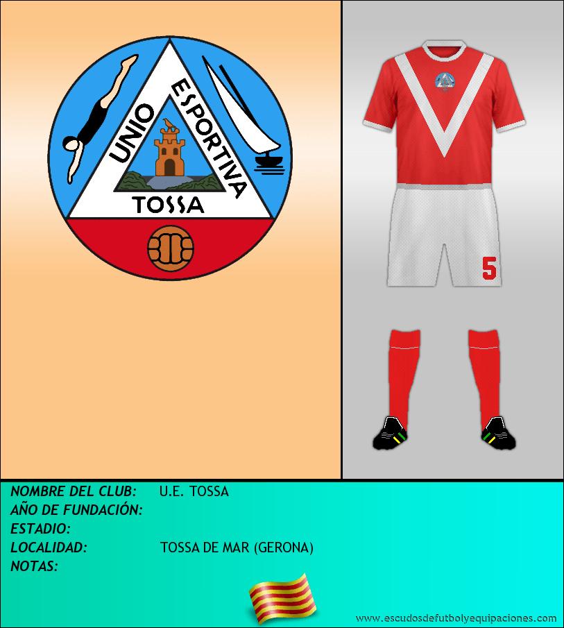Escudo de U.E. TOSSA