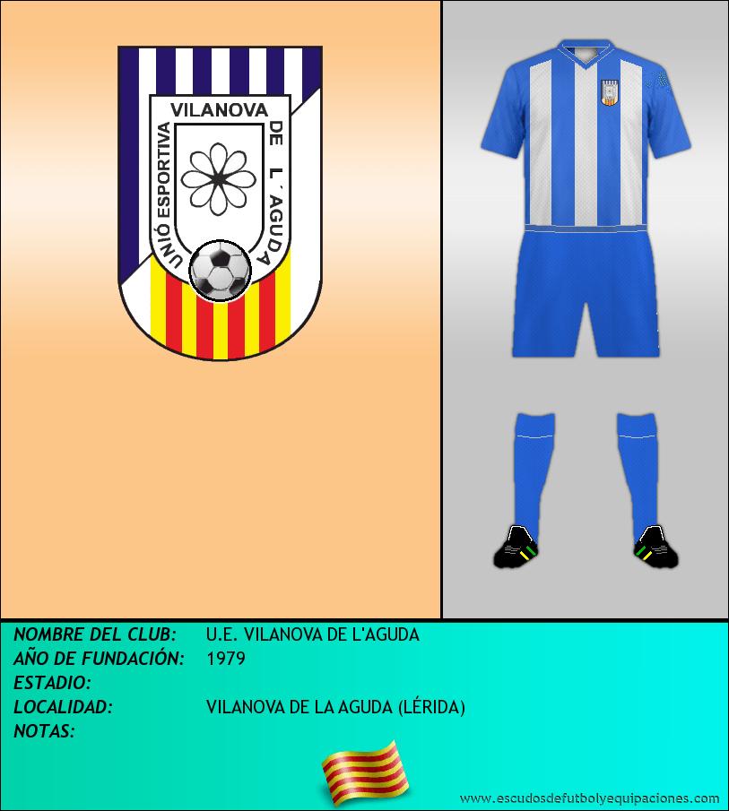 Escudo de U.E. VILANOVA DE L'AGUDA