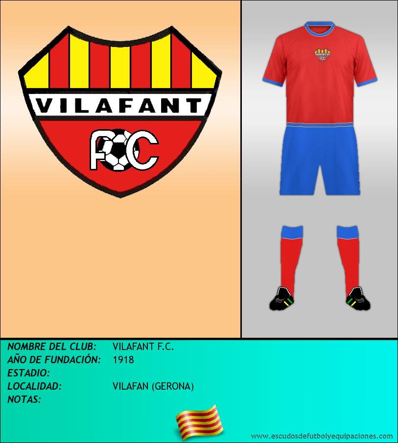 Escudo de VILAFANT F.C.