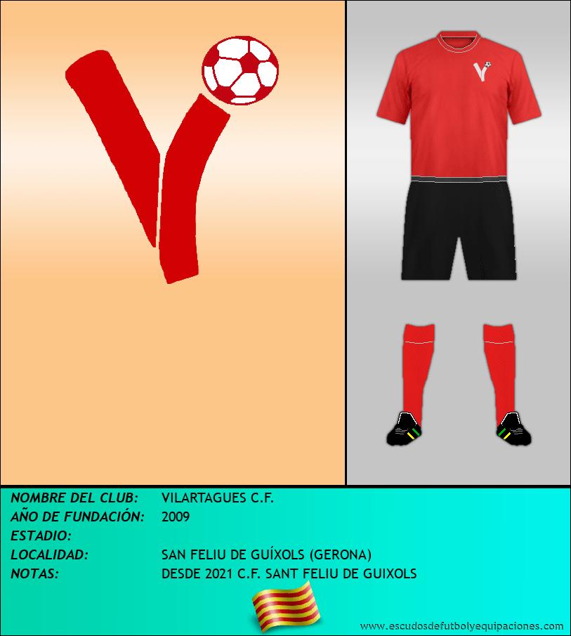 Escudo de VILARTAGUES C.F.