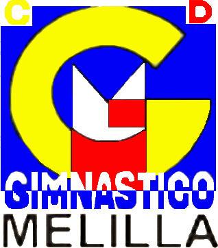 Escudo de C.D. GIMNÁSTICO MELILLA (CEUTA-MELILLA)
