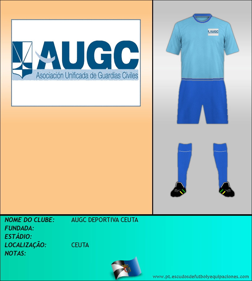 Escudo de AUGC DEPORTIVA CEUTA