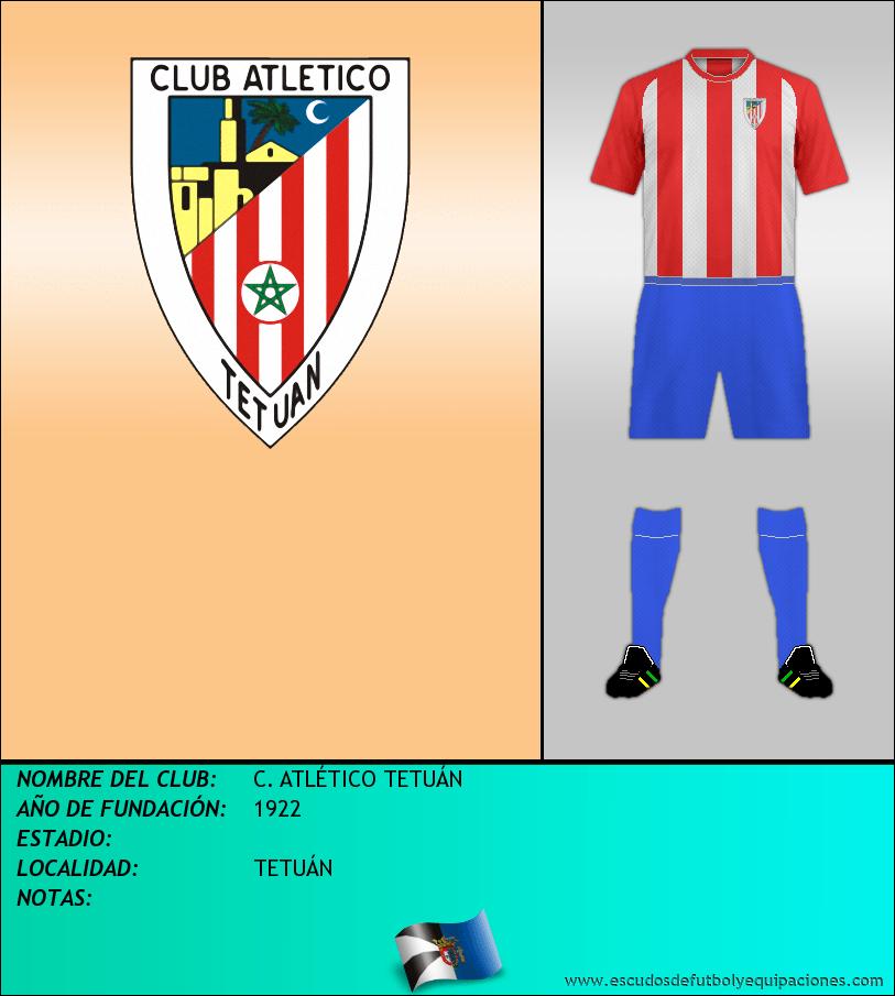 Escudo de C. ATLÉTICO TETUÁN