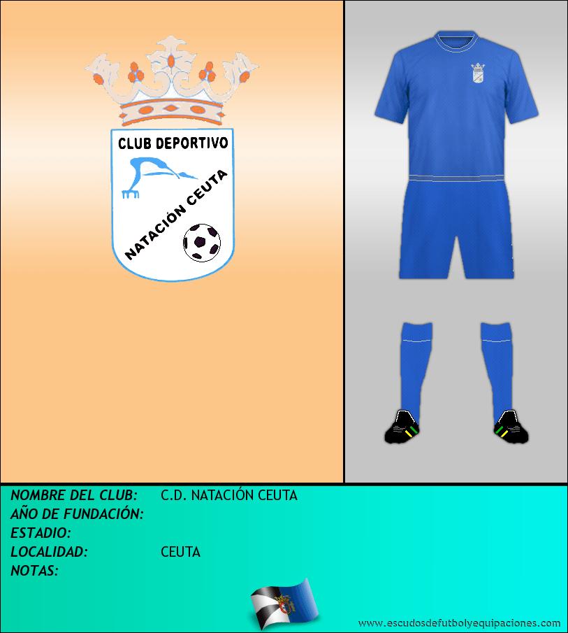 Escudo de C.D. NATACIÓN CEUTA