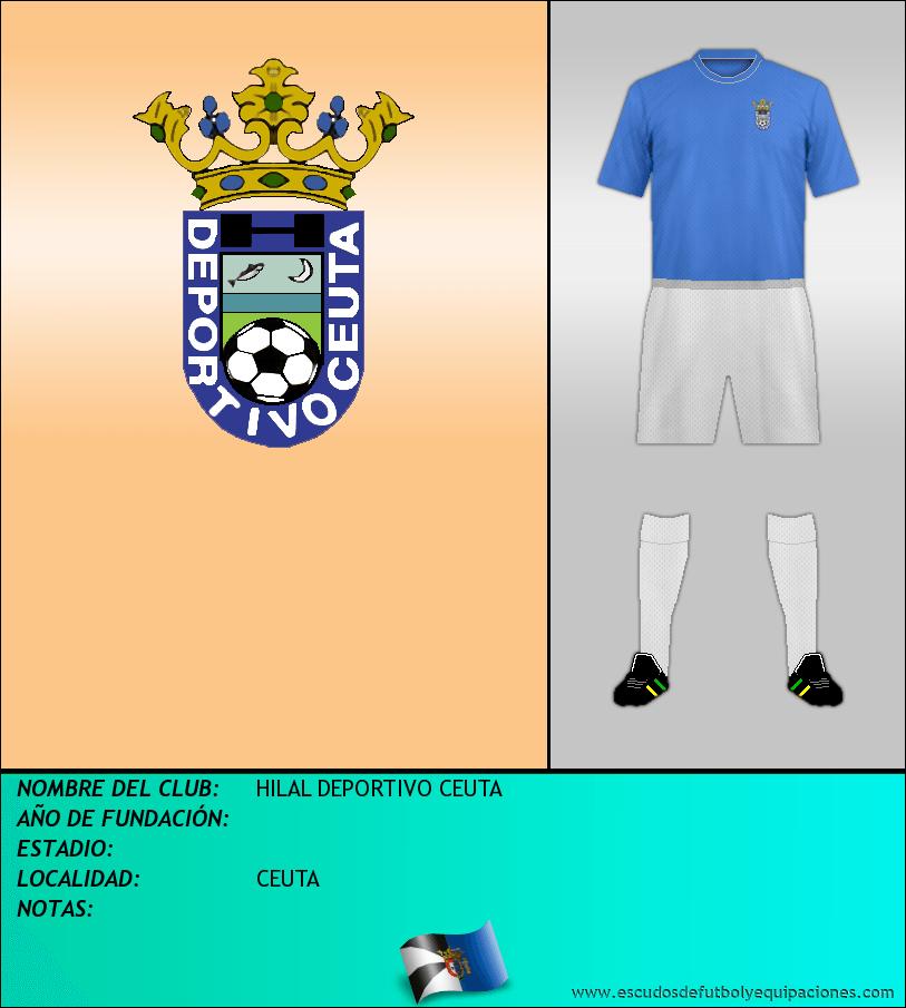 Escudo de HILAL DEPORTIVO CEUTA