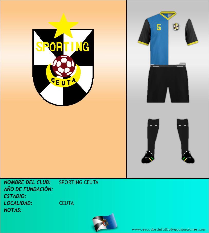 Escudo de SPORTING CEUTA