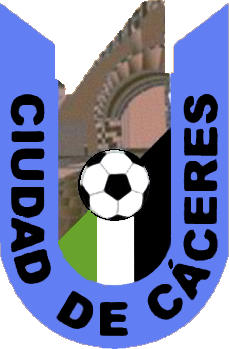 Escudo de A.C.D. CIUDAD DE CACERES (EXTREMADURA)