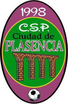 Escudo de A.D. CIUDAD DE PLASENCIA C.F. (EXTREMADURA)