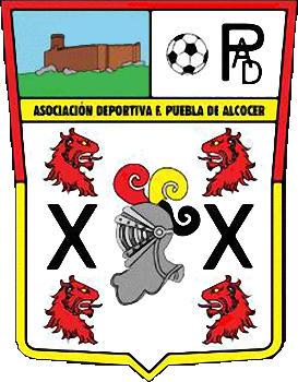 Escudo de A.D. PUEBLA DE ALCOCER (EXTREMADURA)