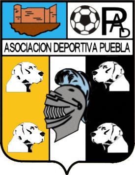 Escudo de A.D. PUEBLA DE LA CALZADA (EXTREMADURA)