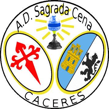 Escudo de A.D. SAGRADA CENA (EXTREMADURA)