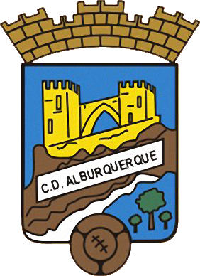 Escudo de C.D. ALBURQUERQUE (EXTREMADURA)